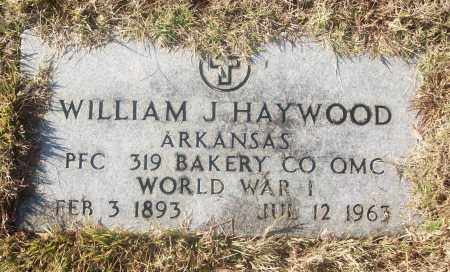 HAYWOOD  (VETERAN WWI), WILLIAM J. - White County, Arkansas | WILLIAM J. HAYWOOD  (VETERAN WWI) - Arkansas Gravestone Photos