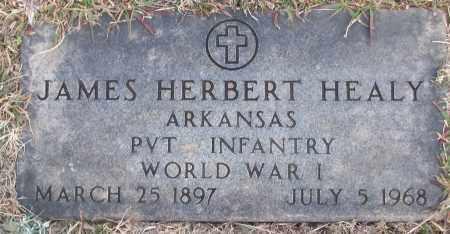 HEALY (VETERAN WWI), JAMES HERBERT - White County, Arkansas | JAMES HERBERT HEALY (VETERAN WWI) - Arkansas Gravestone Photos
