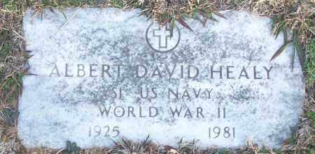 HEALY (VETERAN WWII), ALBERT DAVID - White County, Arkansas | ALBERT DAVID HEALY (VETERAN WWII) - Arkansas Gravestone Photos