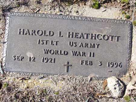 HEATHCOTT (VETERAN WWII), HAROLD L - White County, Arkansas | HAROLD L HEATHCOTT (VETERAN WWII) - Arkansas Gravestone Photos