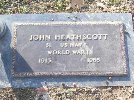 HEATHSCOTT (VETERAN WWII), JOHN - White County, Arkansas | JOHN HEATHSCOTT (VETERAN WWII) - Arkansas Gravestone Photos