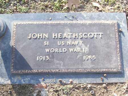 HEATHSCOTT (VETERAN WWII), JOHN - White County, Arkansas | JOHN HEATHSCOTT (VETERAN WWII) - Arkansas Gravestone Photos