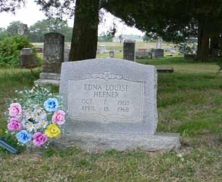 HEFNER, EDNA LOUISE - White County, Arkansas | EDNA LOUISE HEFNER - Arkansas Gravestone Photos