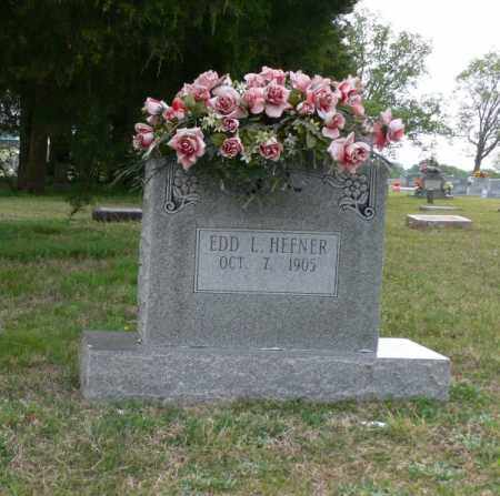 HEFNER, EDD L. - White County, Arkansas | EDD L. HEFNER - Arkansas Gravestone Photos