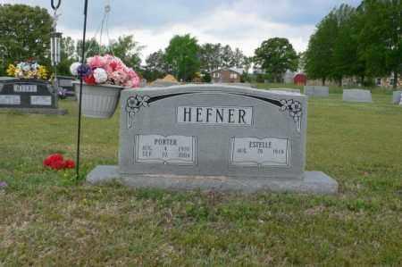 HEFNER, PORTER - White County, Arkansas | PORTER HEFNER - Arkansas Gravestone Photos