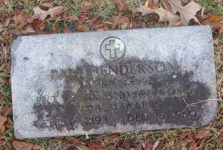 HENDERSON  (VETERAN WWI), SAM - White County, Arkansas | SAM HENDERSON  (VETERAN WWI) - Arkansas Gravestone Photos