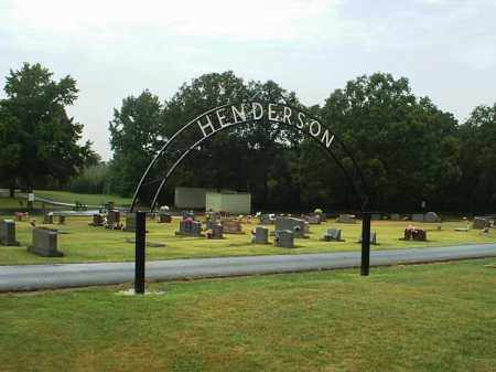 *HENDERSON CEMETERY,  - White County, Arkansas |  *HENDERSON CEMETERY - Arkansas Gravestone Photos
