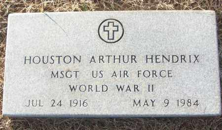 HENDRIX (VETERAN WWII), HOUSTON ARTHUR - White County, Arkansas | HOUSTON ARTHUR HENDRIX (VETERAN WWII) - Arkansas Gravestone Photos