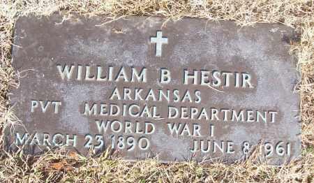 HESTIR (VETERAN WWI), WILLIAM B - White County, Arkansas | WILLIAM B HESTIR (VETERAN WWI) - Arkansas Gravestone Photos