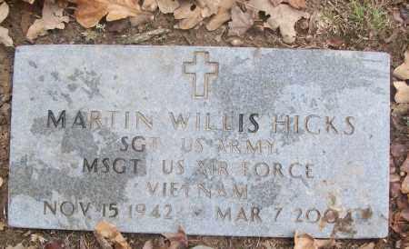 HICKS  (VETERAN VIET), MARTIN WILLIS - White County, Arkansas | MARTIN WILLIS HICKS  (VETERAN VIET) - Arkansas Gravestone Photos