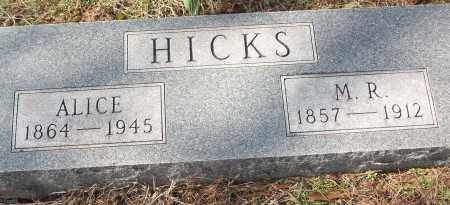 HICKS, ALICE - White County, Arkansas | ALICE HICKS - Arkansas Gravestone Photos