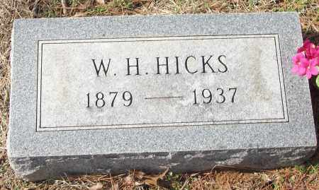 HICKS, W.H. - White County, Arkansas | W.H. HICKS - Arkansas Gravestone Photos