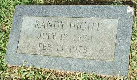 HIGHT, RANDY - White County, Arkansas | RANDY HIGHT - Arkansas Gravestone Photos