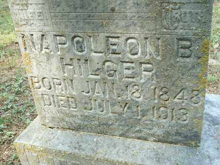 HILGER 2, NAPOLEON BONAPARTE - White County, Arkansas | NAPOLEON BONAPARTE HILGER 2 - Arkansas Gravestone Photos