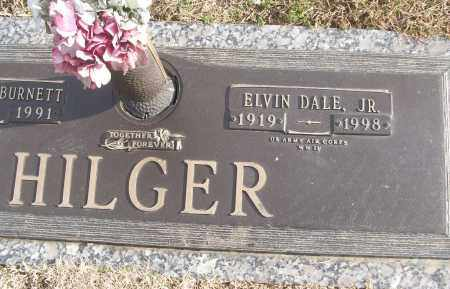 HILGER, JR (VETERAN WWII), ELVIN DALE - White County, Arkansas | ELVIN DALE HILGER, JR (VETERAN WWII) - Arkansas Gravestone Photos