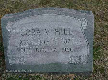 HOOKS HILL, CORA VICTORIA - White County, Arkansas | CORA VICTORIA HOOKS HILL - Arkansas Gravestone Photos