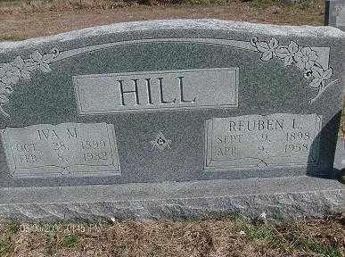 HILL, IVA M - White County, Arkansas | IVA M HILL - Arkansas Gravestone Photos