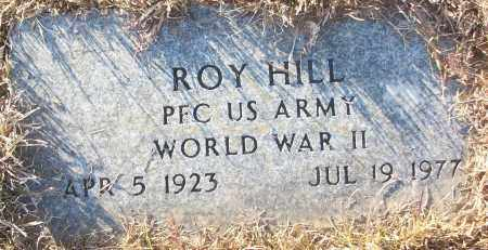 HILL (VETERAN WWII), ROY - White County, Arkansas | ROY HILL (VETERAN WWII) - Arkansas Gravestone Photos