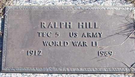 HILL (VETERAN WWII), RALPH - White County, Arkansas   RALPH HILL (VETERAN WWII) - Arkansas Gravestone Photos