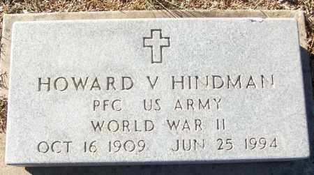 HINDMAN (VETERAN WWII), HOWARD V - White County, Arkansas | HOWARD V HINDMAN (VETERAN WWII) - Arkansas Gravestone Photos