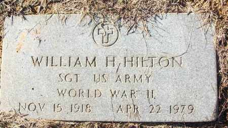 HILTON (VETERAN WWII), WILLIAM H - White County, Arkansas | WILLIAM H HILTON (VETERAN WWII) - Arkansas Gravestone Photos