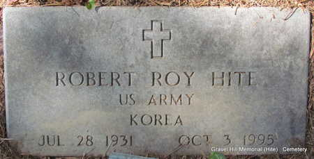 HITE (VETERAN KOR), ROBERT ROY - White County, Arkansas | ROBERT ROY HITE (VETERAN KOR) - Arkansas Gravestone Photos