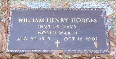 HODGES  (VETERAN WWII), WILIAM HENRY - White County, Arkansas | WILIAM HENRY HODGES  (VETERAN WWII) - Arkansas Gravestone Photos