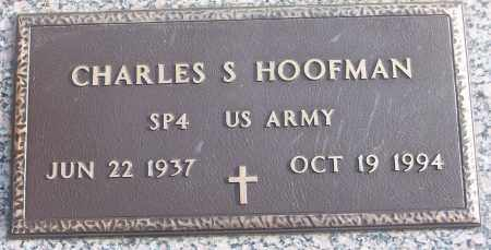 HOOFMAN (VETERAN), CHARLES S - White County, Arkansas | CHARLES S HOOFMAN (VETERAN) - Arkansas Gravestone Photos