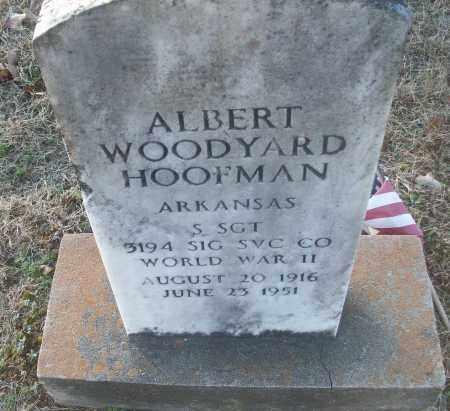 HOOFMAN (VETERAN WWII), ALBERT WOODYARD - White County, Arkansas | ALBERT WOODYARD HOOFMAN (VETERAN WWII) - Arkansas Gravestone Photos
