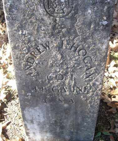 HOGAN  (VETERAN CSA), ANDREW J - White County, Arkansas | ANDREW J HOGAN  (VETERAN CSA) - Arkansas Gravestone Photos