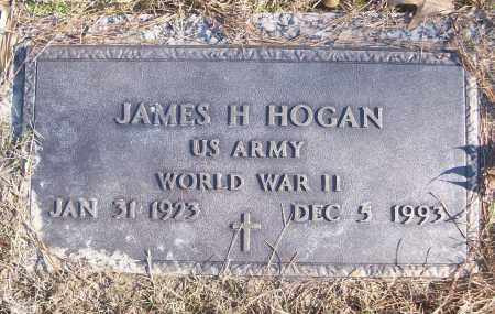 HOGAN (VETERAN WWII), JAMES H - White County, Arkansas | JAMES H HOGAN (VETERAN WWII) - Arkansas Gravestone Photos