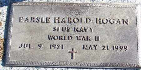 HOGAN (VETERAN WWII), EARSLE HAROLD - White County, Arkansas | EARSLE HAROLD HOGAN (VETERAN WWII) - Arkansas Gravestone Photos