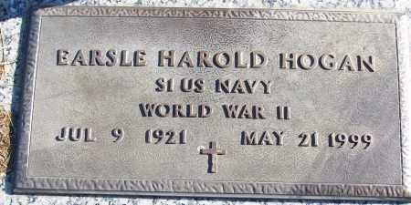 HOGAN (VETERAN WWII), EARSLE HAROLD - White County, Arkansas   EARSLE HAROLD HOGAN (VETERAN WWII) - Arkansas Gravestone Photos