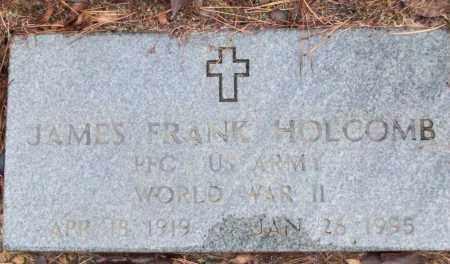 HOLCOMB (VETERAN WWII), JAMES FRANK - White County, Arkansas | JAMES FRANK HOLCOMB (VETERAN WWII) - Arkansas Gravestone Photos