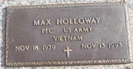 HOLLOWAY (VETERAN VIET), MAX - White County, Arkansas | MAX HOLLOWAY (VETERAN VIET) - Arkansas Gravestone Photos