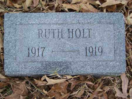 HOLT, RUTH - White County, Arkansas | RUTH HOLT - Arkansas Gravestone Photos