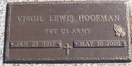 HOOFMAN (VETERAN), VIRGIL LEWIS - White County, Arkansas | VIRGIL LEWIS HOOFMAN (VETERAN) - Arkansas Gravestone Photos