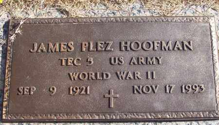 HOOFMAN (VETERAN WWII), JAMES PLEZ - White County, Arkansas | JAMES PLEZ HOOFMAN (VETERAN WWII) - Arkansas Gravestone Photos