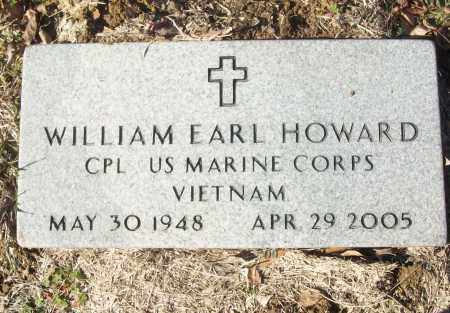 HOWARD (VETERAN VIET), WILLIAM EARL - White County, Arkansas | WILLIAM EARL HOWARD (VETERAN VIET) - Arkansas Gravestone Photos