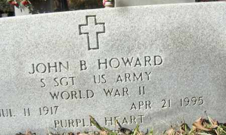 HOWARD (VETERAN WWII), JOHN B - White County, Arkansas | JOHN B HOWARD (VETERAN WWII) - Arkansas Gravestone Photos