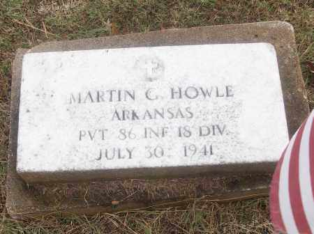 HOWLE  (VETERAN), MARTIN G - White County, Arkansas | MARTIN G HOWLE  (VETERAN) - Arkansas Gravestone Photos