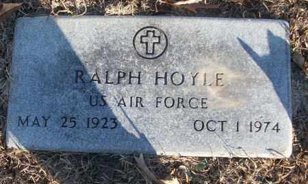 HOYLE (VETERAN), RALPH - White County, Arkansas | RALPH HOYLE (VETERAN) - Arkansas Gravestone Photos