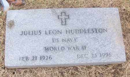 HUDDLESTON  (VETERAN WWII), JULIUS LEON - White County, Arkansas | JULIUS LEON HUDDLESTON  (VETERAN WWII) - Arkansas Gravestone Photos