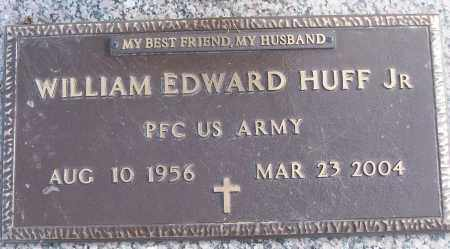 HUFF, JR (VETERAN), WILLIAM EDWARD - White County, Arkansas | WILLIAM EDWARD HUFF, JR (VETERAN) - Arkansas Gravestone Photos