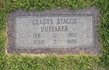 STAGGS HUFFAKER, GLADYS - White County, Arkansas | GLADYS STAGGS HUFFAKER - Arkansas Gravestone Photos
