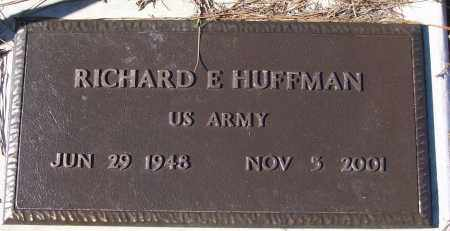 HUFFMAN (VETERAN), RICHARD E - White County, Arkansas | RICHARD E HUFFMAN (VETERAN) - Arkansas Gravestone Photos