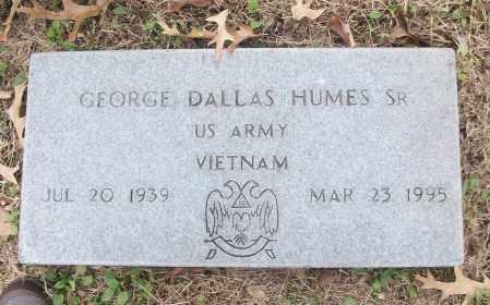 HUMES, SR (VETERAN VIET), GEORGE DALLAS - White County, Arkansas | GEORGE DALLAS HUMES, SR (VETERAN VIET) - Arkansas Gravestone Photos