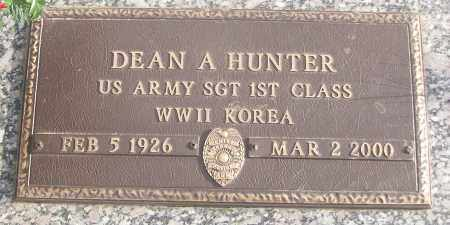 HUNTER (VETERAN 2 WARS), DEAN - White County, Arkansas | DEAN HUNTER (VETERAN 2 WARS) - Arkansas Gravestone Photos