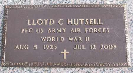 HUTSELL (VETERAN WWII), LLOYD C - White County, Arkansas | LLOYD C HUTSELL (VETERAN WWII) - Arkansas Gravestone Photos