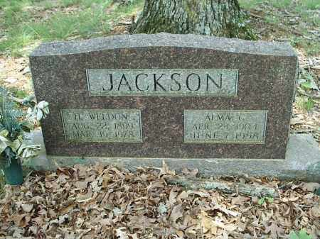 JACKSON, H WELDON - White County, Arkansas | H WELDON JACKSON - Arkansas Gravestone Photos